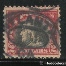 Sellos: ESTADOS UNIDOS AMERICA .. B. FRANKLIN. 2 $. 1918-19. IVERT .222. D.11. M. ATLANTA.SF.CANCEL.. Lote 102670247