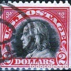 Sellos: ESTADOS UNIDOS AMERICA .. B. FRANKLIN. 2 $. 1918-19. IVERT .222. D.11. SF.CANCEL.. Lote 102670407