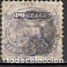 Sellos: EEUU 1869 - USADO. Lote 104051003