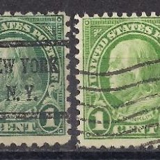 Sellos: EEUU 1923 - USADO. Lote 104180359