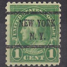 Sellos: EEUU 1923 - USADO. Lote 104180563