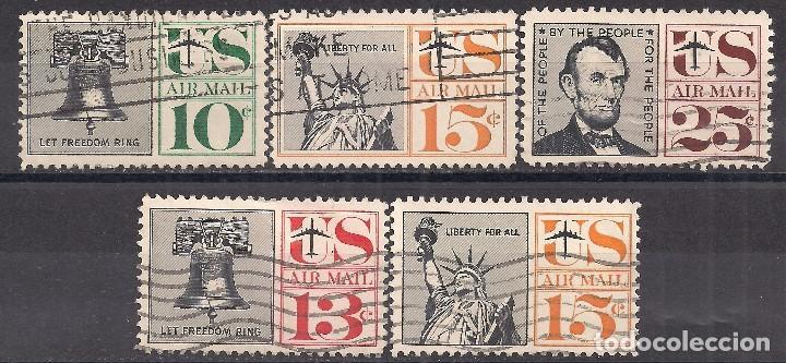 EEUU 1959-1961 - USADO (Sellos - Extranjero - América - Estados Unidos)