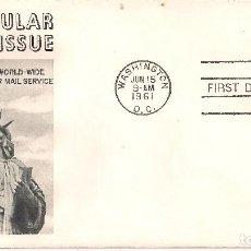Sellos: EEUU 1961 - SOBRE PRIMER DIA. Lote 105187011
