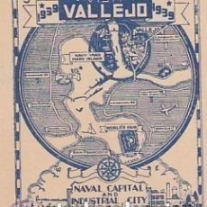 Sellos: VALLEJO (SAN FRANCISCO) 1939. VIÑETA. CAPITAL NAVAL E INDUSTRIAL. **.MNH(18-67). Lote 112305103
