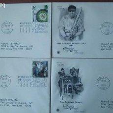 Sellos: EEUU 1998 - CUATRO SOBRES PRIMER DIA DE CIRCULACION. Lote 114531759