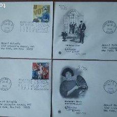 Sellos: EEUU 1998 - CUATRO SOBRES PRIMER DIA DE CIRCULACION. Lote 114531963