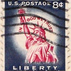 Sellos: 1954 - ESTADOS UNIDOS - U.S.A. - ESTATUA DE LA LIBERTAD - YVERT 582. Lote 118578691