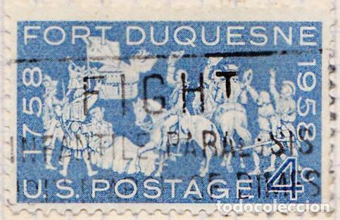 1958 - ESTADOS UNIDOS - U.S.A. - BI-CENTENARIO DE FORT DUQUESNE - YVERT 656 (Sellos - Extranjero - América - Estados Unidos)