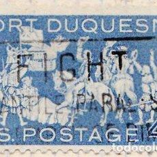 Sellos: 1958 - ESTADOS UNIDOS - U.S.A. - BI-CENTENARIO DE FORT DUQUESNE - YVERT 656. Lote 118764311
