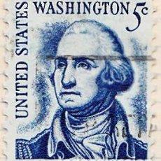 Sellos: 1965 - ESTADOS UNIDOS - U.S.A. - AMERICANOS CELEBRES - GEORGE WASHINGTON - YVERT 796. Lote 118866871