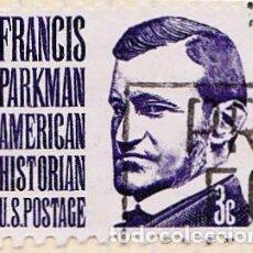 Sellos: 1967 - ESTADOS UNIDOS - U.S.A. - AMERICANOS CELEBRES - FRANCIS PARKMAN - YVERT 818. Lote 118913351