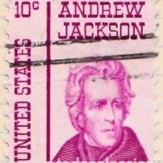 Sellos: 1967 - ESTADOS UNIDOS - U.S.A. - AMERICANOS CELEBRES - ANDREW JACKSON - YVERT 819. Lote 118913483