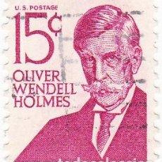 Sellos: 1967 - ESTADOS UNIDOS - U.S.A. - AMERICANOS CELEBRES - OLIVER WENDELL HOLMES - YVERT 821. Lote 118913823