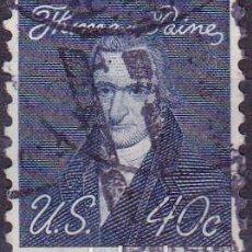 Sellos: 1967 - ESTADOS UNIDOS - U.S.A. - AMERICANOS CELEBRES - THOMAS PAYNE - YVERT 824. Lote 118914431