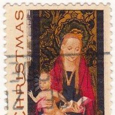 Sellos: 1967 - ESTADOS UNIDOS - U.S.A. - CHRISTMAS - LA VIRGEN Y EL NIÑO - HANS MEMLING - YVERT 839. Lote 118915055