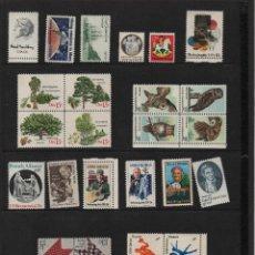 Sellos: U.S.A. MINT SET OF COMMEMORATIVE STAMPS. 1978, VER FOTOS. Lote 119335327