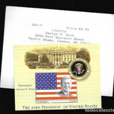 Sellos: SELLO * GEORGE W. BUSH THE 43 RD. PRESIDENT OF UNITED STATES * . Lote 120351063