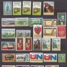 Sellos: ESTADOS UNIDOS 36 SELLOS 1950- 1879 NUEVOS (MNH) LOTE - 4. Lote 121498947