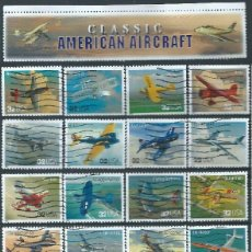 Briefmarken - ESTADOS UNIDOS 1997 CLASIC AIRCRAFTS SET DE 20V USADOS SC 3142a-t YV 2610-29 - 121931459