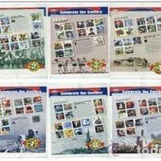 Sellos: ESTADOS UNIDOS 1998 10 HB CELEBRANDO CENTENARIO CELEBRATE CENTURY10 MS SC 3182-91 YV 2680-3081 . Lote 122016179