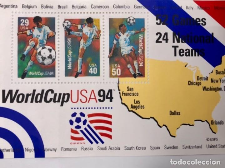 WORLDCUP USA 94 (Sellos - Extranjero - América - Estados Unidos)