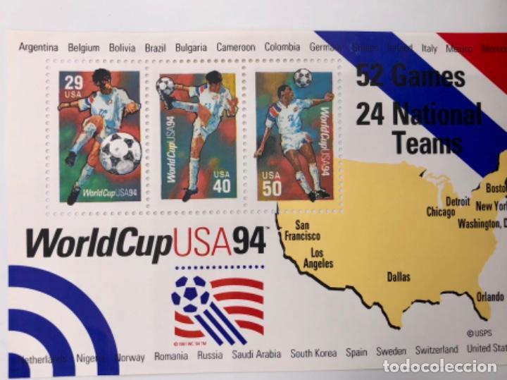 Sellos: WORLDCUP USA 94 - Foto 2 - 123075667