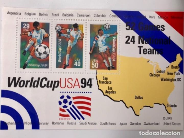 Sellos: WORLDCUP USA 94 - Foto 3 - 123075667