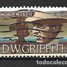 Sellos: EL CINE EN USA. SELLO AÑO 1975. Lote 150674050