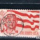 Sellos: EE.UU 1962. PRECIOSO MATASELLOS DEL PRIMER DIA DE CIRCULACIÓN YVES 733. Lote 130366330