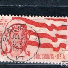 Sellos: EE.UU 1962. PRECIOSO MATASELLOS DEL PRIMER DIA DE CIRCULACIÓN YVES 733. Lote 176389240