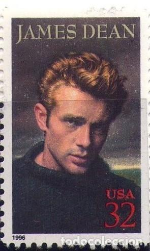 Sellos: ESTADOS UNIDOS, 1996, CINE - JAMES DEAN. - Foto 1 - 132319970