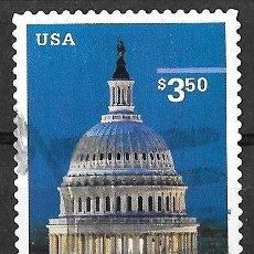 Sellos: ESTADOS UNIDOS (USA) 2001. CAPITOLIO DE WASHINGTON. YT 3146. USADO. Lote 132919362