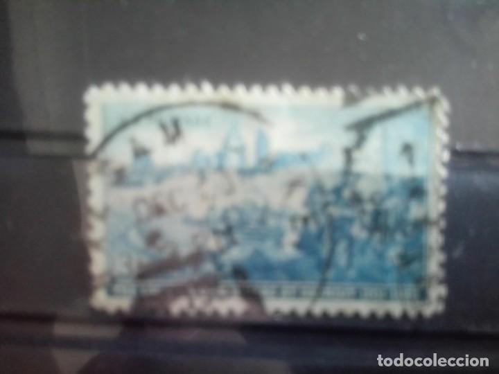 ESTADOS UNIDOS 1955, - DESEMBARCO DE CADILLAC EN DETROIT, IT 551 (Sellos - Extranjero - América - Estados Unidos)