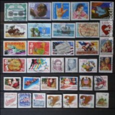 Briefmarken - ESTADOS UNIDOS - LOTE 47 SELLOS - USADOS - 134582022