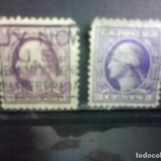 Sellos: EEUU 1908/12 WASHINGTON VARIANTES DE COLOR. Lote 139608590