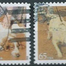 Sellos: ESTADOS UNIDOS 2012 PERROS DOGS SET DE 4V USADOS SC 4604-07 YV 4450-53. Lote 143110366