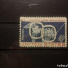 Sellos: EEUU 1959, ST LAWRENCE, VÍA MARÍTIMA. YT 670. Lote 143331714