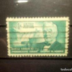 Sellos: EEUU 1961, GEORGE NORRIS, YT 715. Lote 143333830