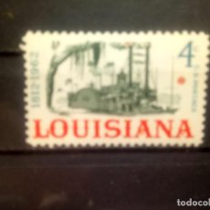 Sellos: EEUU 1962, ANIVERSARIO DE LA LOUISIANA. YT 730. Lote 143335162