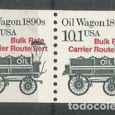 Timbres: ESTADOS UNIDOS USA OIL WAGON ACEITE BULK RATE . Lote 143741782