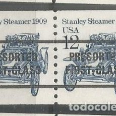 Sellos: ESTADOS UNIDOS USA STANLEY CAR AUTOMOVIL PRESORTED FIRST CLASS. Lote 143742194