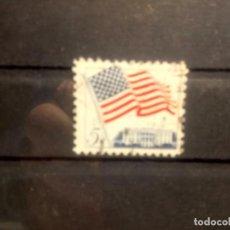 Sellos: EEUU 1962, BANDERA. YT 743. Lote 143953670