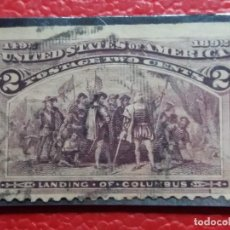 Sellos: UNITED STATES OF AMERICA POSTAGE. 2 CENT. AÑO 1893. USADO. Lote 145287046