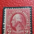 Sellos: UNITED STATES OF AMERICA POSTAGE. WASHINGTON 2 CENT. AÑO 1932. USADO. Lote 145292510