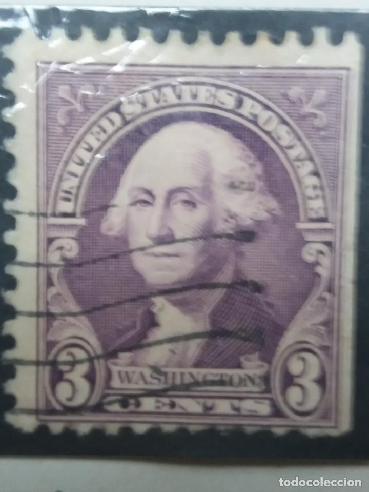 UNITED STATES OF AMERICA POSTAGE. WASHINGTON 3 CENT. AÑO 1932 USADO (Sellos - Extranjero - América - Estados Unidos)