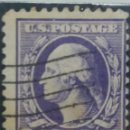 Sellos: UNITED STATES OF AMERICA POSTAGE. WASHINGTON 3 CENT. AÑO 1908 USADO. Lote 145430206