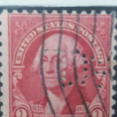 Briefmarken - united states of america postage. washington 2 cent. año 1932 usado - 145430566