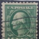 Sellos: UNITED STATES OF AMERICA POSTAGE. WASHINGTON 1 CENT. AÑO 1919USADO. Lote 145431358