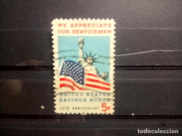 EEUU, USA 1966, 25 ANIVERSARIO DE LOS AHORROS PÚBLICOS. YT 813 (Sellos - Extranjero - América - Estados Unidos)