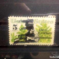 Sellos: EEUU, USA 1967, DAVID CROCKETT, YT 833. Lote 146054546